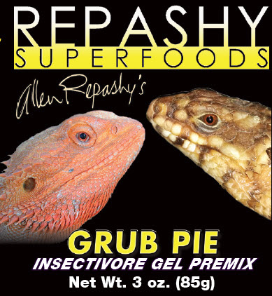 Grub Pie Reptile